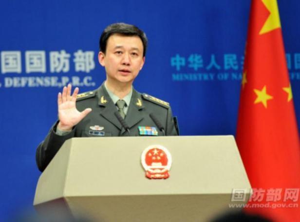 Người phát ngôn Bộ Quốc phòng Trung Quốc Ngô Khiêm. Ảnh: Mod.gov.cn
