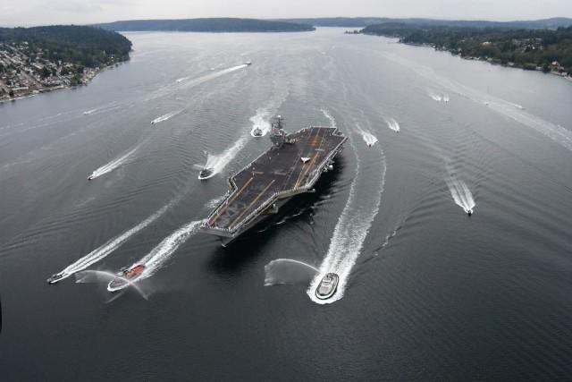 Cụm tấn công tàu sân bay USS Carl Vinson, Hải quân Mỹ