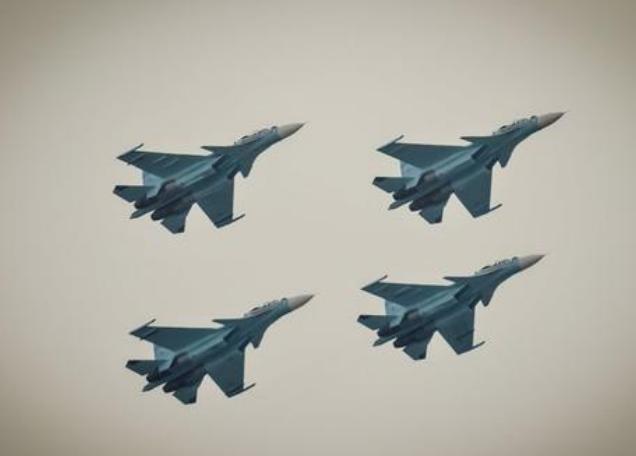Máy bay chiến đấu Su-30SM Nga. Ảnh: Chinanews