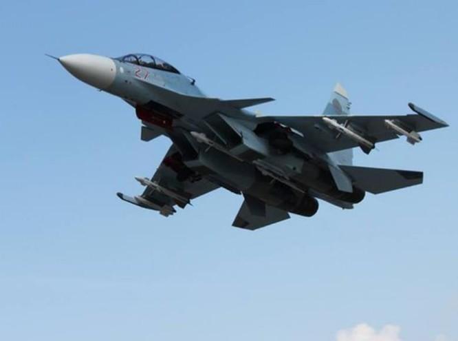 Máy bay chiến đấu Su-30SM Nga. Ảnh: Huanqiu