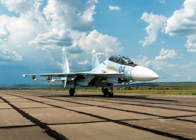 Máy bay chiến đấu Su-30SM Nga. Ảnh: Military.china.com