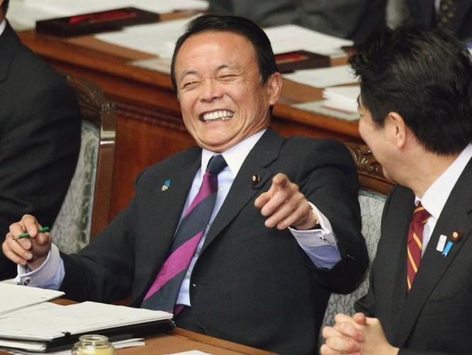 Bộ trưởng Tài chính Nhật Bản Taro Aso. Ảnh: The Japan Times