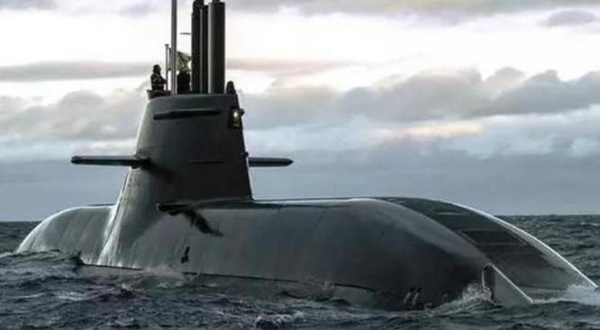 Tàu ngầm thông thường Đức. Ảnh: Sina
