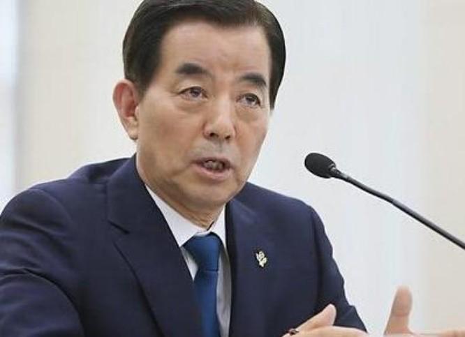 Bộ trưởng Quốc phòng Hàn Quốc Han Min-koo. Ảnh: ifeng