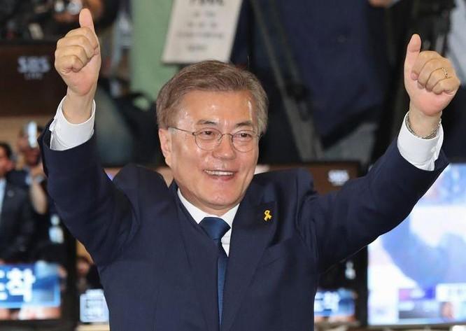 Tổng thống Hàn Quốc Moon Jae-in. Ảnh: Washington Times