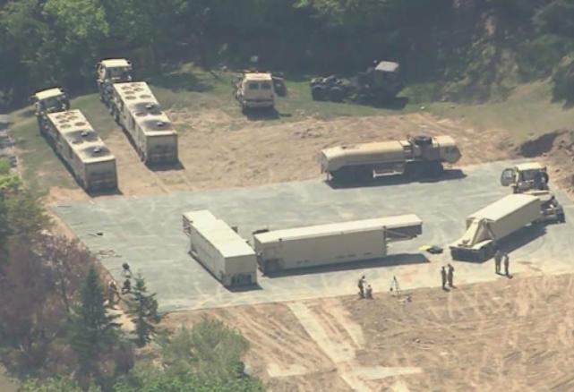 Mỹ đã triển khai THAAD ở Hàn Quốc. Ảnh: News.6park.com