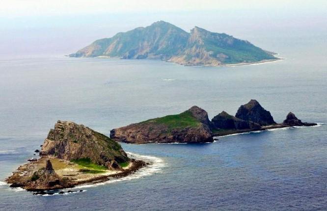 Nhóm đảo Senkaku. Ảnh: Sina