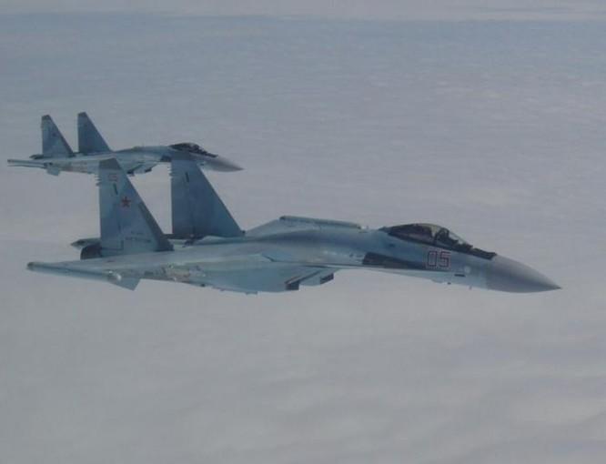 Biên đội máy bay chiến đấu Su-35S Nga. Ảnh: Cankao