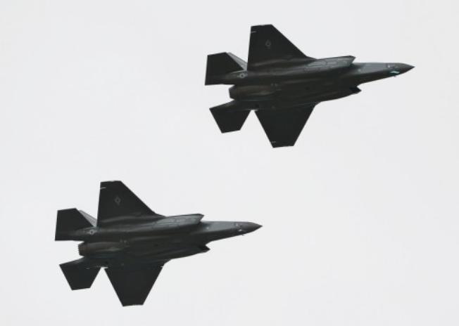 Máy bay chiến đấu F-35A do Mỹ sản xuất.