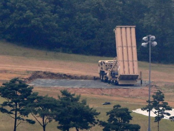 Mỹ đã triển khai THAAD ở Hàn Quốc. Ảnh: Yonhap