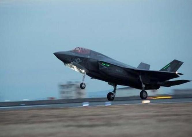 Mỹ đã triển khai máy bay chiến đấu tàng hình F-35 ở khu vực Đông Bắc Á. Ảnh: Sina