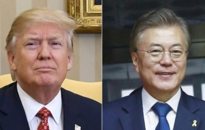 Hội nghị thượng đỉnh Mỹ - Hàn sắp được tổ chức ở Washington, Mỹ. Ảnh: South China Morning Post