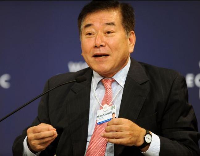 Giáo sư chính trị học Moon Chung-in, Đại học Yonsei, Hàn Quốc. Ảnh: Cankao