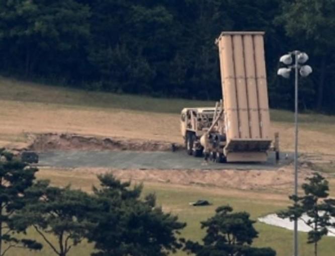 Hệ thống phòng thủ khu vực tầm cao đoạn cuối (THAAD) Mỹ. Ảnh: Ifeng