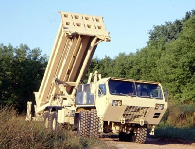 Hệ thống phòng thủ khu vực tầm cao đoạn cuối (THAAD) Mỹ. Ảnh: Sohu
