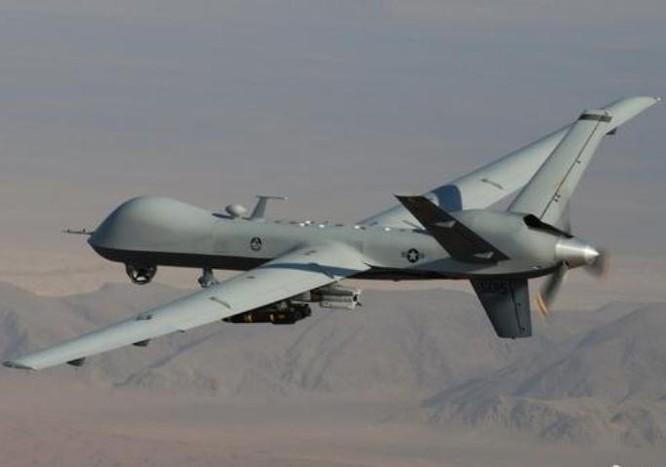 Máy bay do thám kiêm tấn công MQ-9M do Mỹ sản xuất. Ảnh: Sina