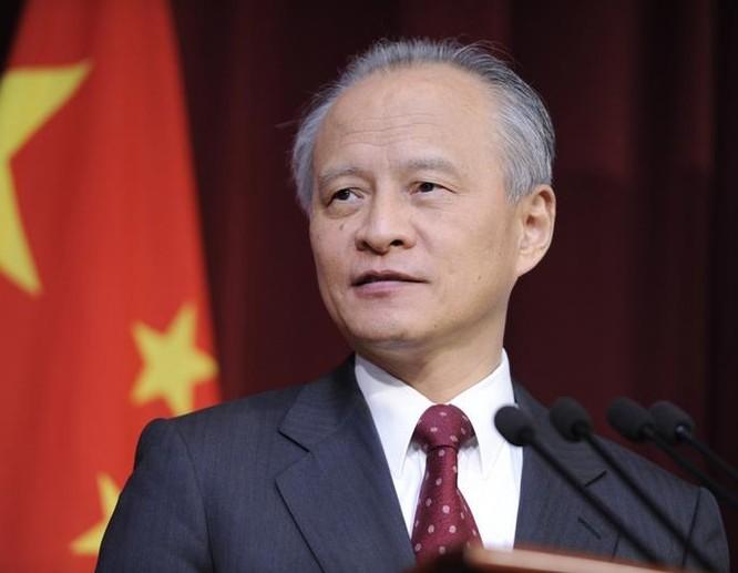 Đối với việc Mỹ bán vũ khí cho Đài Loan, Đại sứ Trung Quốc tại Mỹ Thôi Thiên Khai nói rằng Trung Quốc