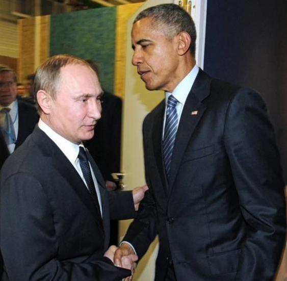 Quan hệ Mỹ - Nga căng thẳng dưới thời cựu Tổng thống Mỹ Barack Obama. Ảnh: The Independent