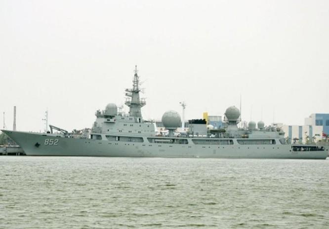 Tàu trinh sát Hải Vương Tinh của Hạm đội Nam Hải, Hải quân Trung Quốc.
