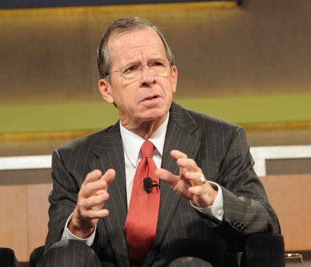 Tướng Mike Mullen, cựu Chủ tịch Hội đồng Tham mưu trưởng Liên quân Mỹ. Ảnh: Huffington Post