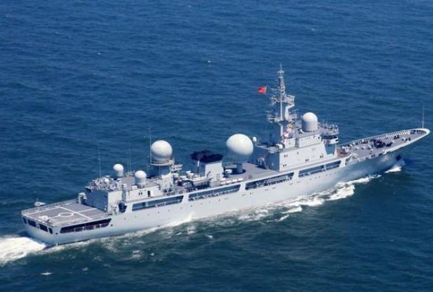 Tàu trinh sát điện tử Trung Quốc. Ảnh: Sina
