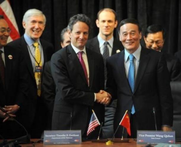 Trung Quốc và Mỹ chuẩn bị tiến hành đối thoại kinh tế. Ảnh: Chinanews