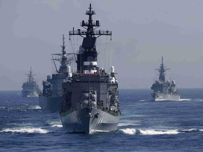 Lực lượng Phòng vệ Biển Nhật Bản. Ảnh: Dwnews