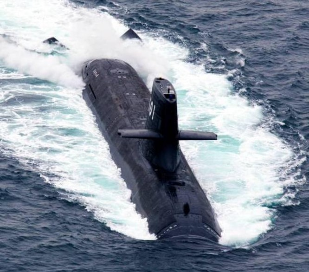 Tàu ngầm thông thường AIP lớp Soryu của Lực lượng Phòng vệ Biển Nhật Bản.