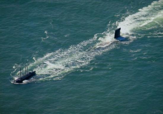 Tàu ngầm hạt nhân Hải quân Trung Quốc.