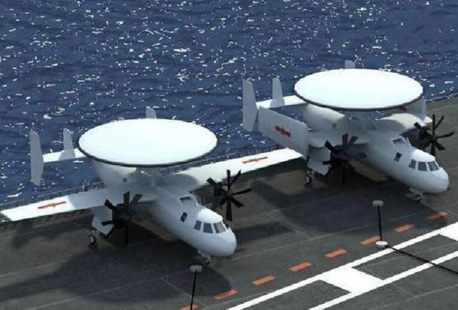 Hình ảnh này được cho là mô hình máy bay cảnh báo sớm KJ-600 Trung Quốc. Ảnh: Sohu