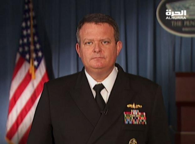 Jeff Davis, người phát ngôn Bộ Quốc phòng Mỹ.