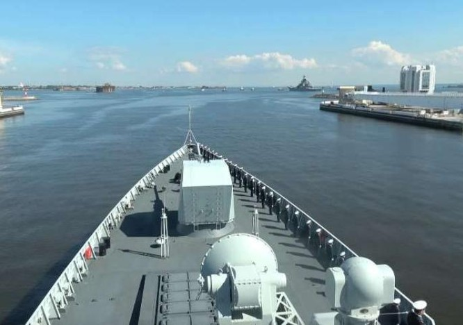 Hải quân Trung Quốc và Nga tiến hành cuộc tập trận chung