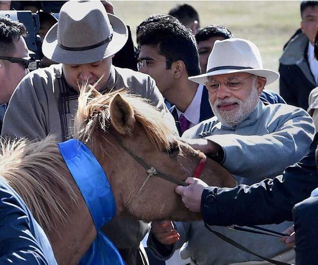 Quan hệ Ấn Độ - Mông Cổ đã phát triển tốt đẹp trong nhiều năm. Ảnh: Cri Online