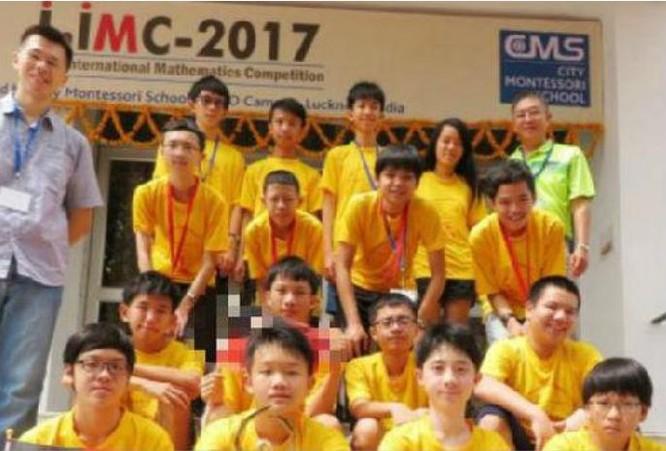 Đội toán học Đài Loan tham gia cuộc thi toán học quốc tế ở Ấn Độ. Ảnh: Sina.