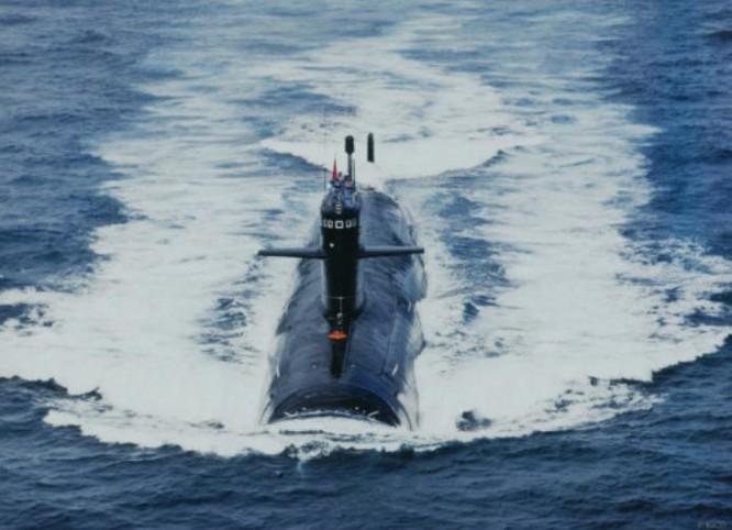 Tàu ngầm hạt nhân tấn công Type 093 Hải quân Trung Quốc đến Ấn Độ Dương. Ảnh: Sina
