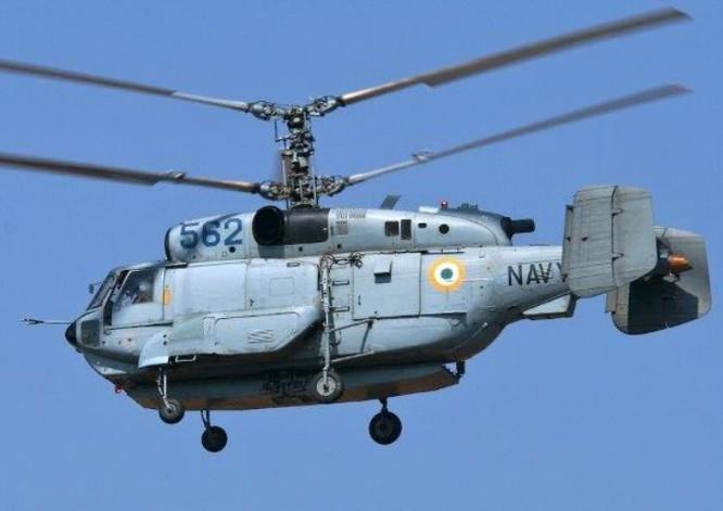 Máy bay trực thăng săn ngầm Ka-28 hải quân Ấn Độ. Ảnh: Analisi Difesa