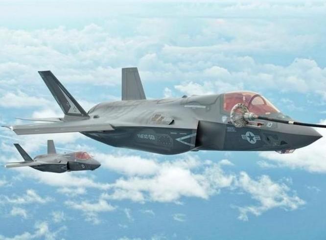 Máy bay chiến đấu tàng hình F-35B Mỹ. Ảnh: Cri Online.