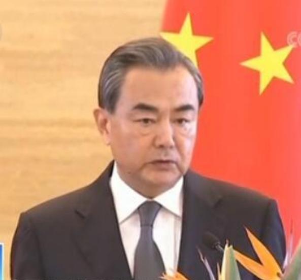 Bộ trưởng Ngoại giao Trung Quốc Vương Nghị. Ảnh: CCTV/Sina.