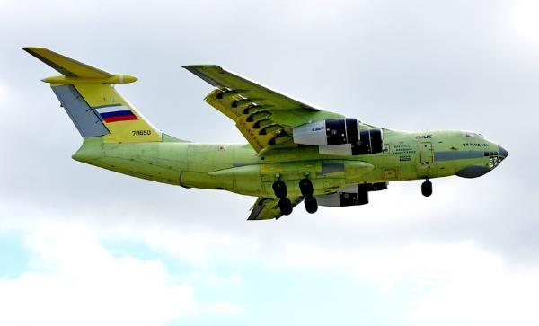 Máy bay vận tải IL-476 Nga.
