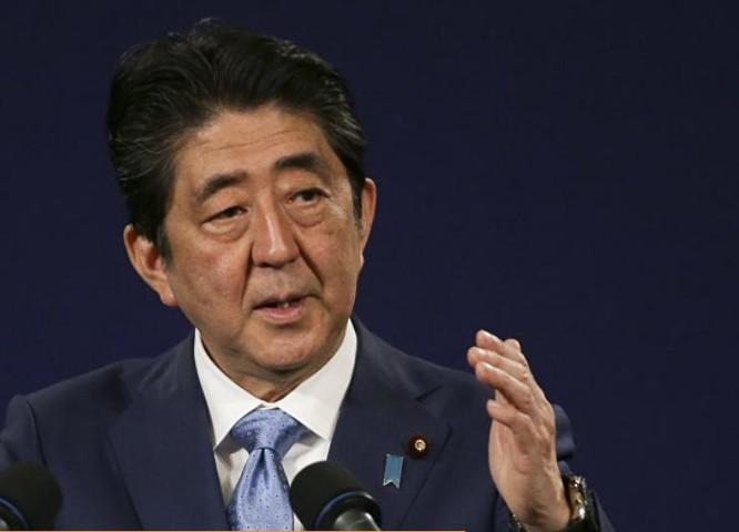 Thủ tướng Nhật Bản Shinzo Abe áp dụng lập trường cứng rắn với Triều Tiên. Ảnh: Sputnik.