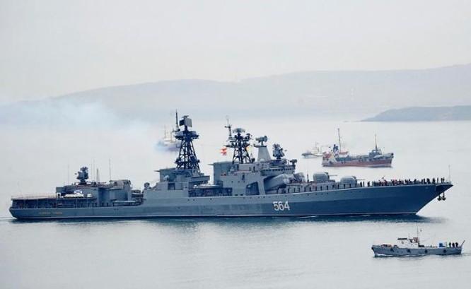 Tàu khu trục săn ngầm Admiral Tributs, Hải quân Nga. Navy Recognition.