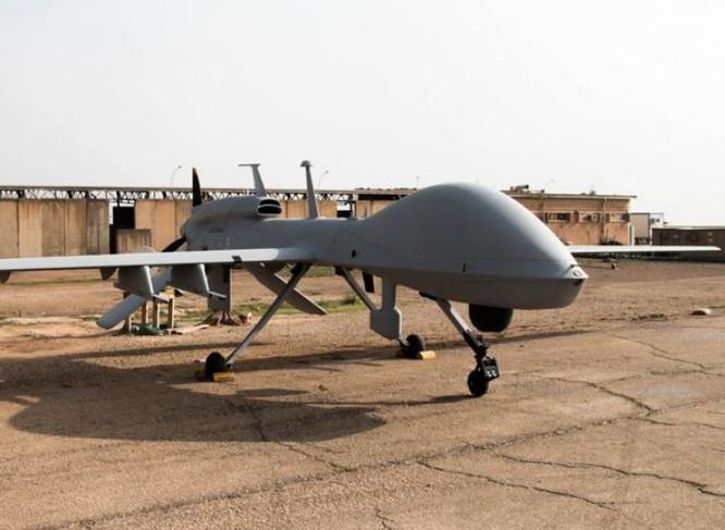 Máy bay không người lái MQ-1C Gray Eagle của lục quân Mỹ. Ảnh: Defense News.