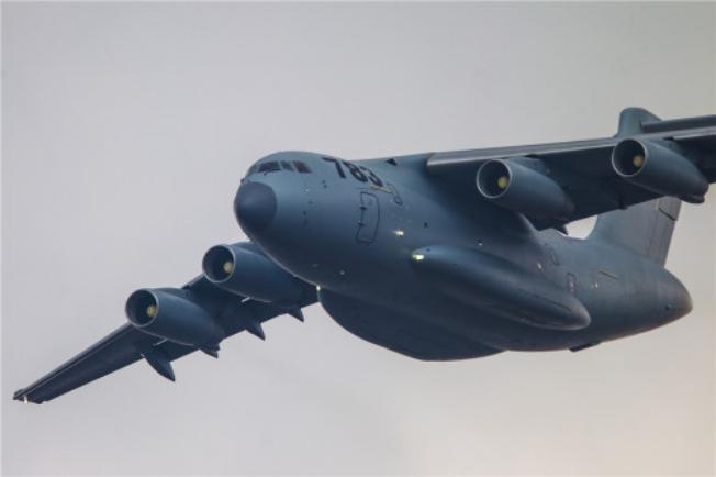 Máy bay vận tải cỡ lớn Y-20 Trung Quốc cũng có