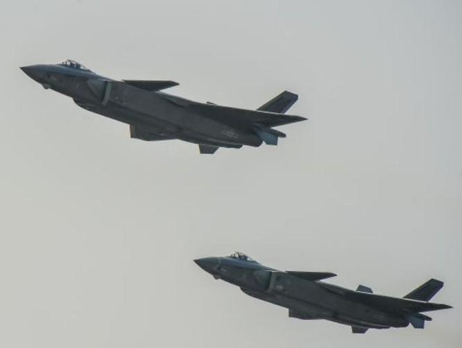 Máy bay chiến đấu J-20 Trung Quốc. Ảnh: Cankao.