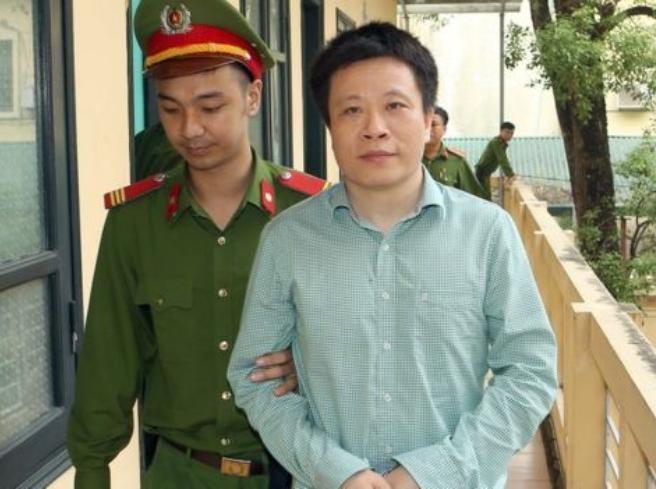 Hà Văn Thắm, nguyên Chủ tịch Hội đồng quản trị ngân hàng OceanBank. Ảnh: Sohu