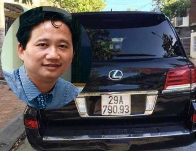 Trịnh Xuân Thanh, nguyên phó bí thư đảng ủy, tổng giám đốc, chủ tịch hội đồng quản trị PVC. Ảnh: Tân Hoa xã.