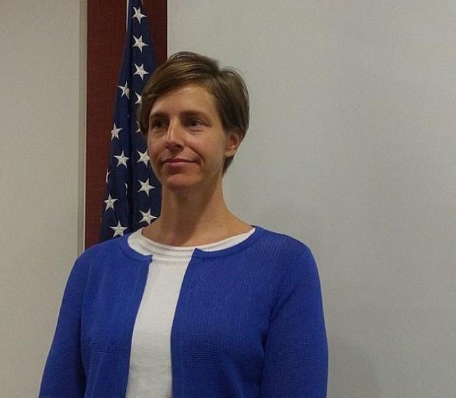 Đại sứ Mỹ tại Philippines bà Molly Koscina. Ảnh: Cebu Daily News.