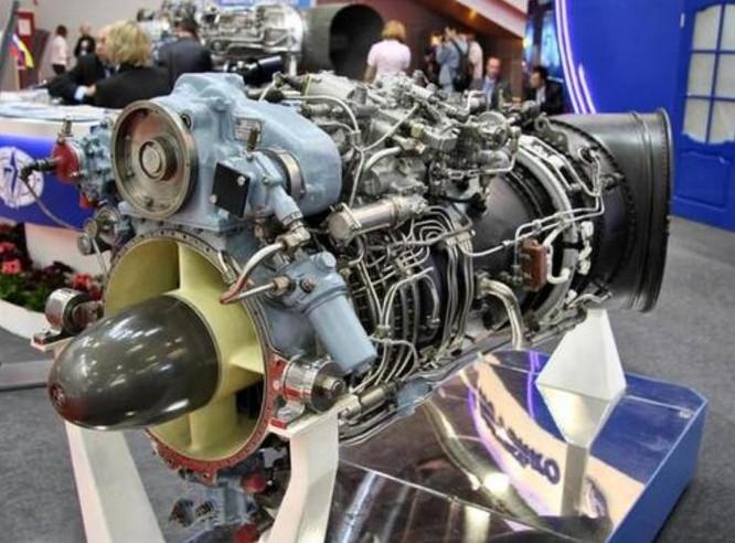 Động cơ TV3-117VMA-SBM1V là nội dung chính trong hợp đồng giữa MotorSich Ukraine và Thiên Kiêu Trung Quốc. Ảnh: Sina.