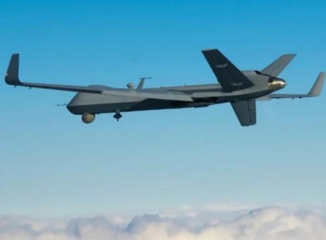 Ấn Độ đặt mua 22 máy bay trinh sát kiêm tấn công không người lái MQ-9B của Mỹ. Ảnh: Huanqiu.