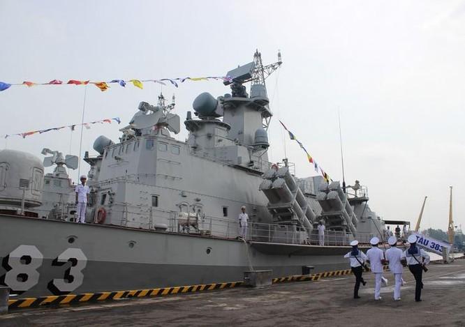 Hải quân Việt Nam biên chế thêm 2 tàu tên lửa lớp Molniya. Ảnh: Sohu.